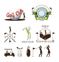 Golf Logo and Graphic Elements vector