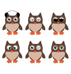 Owl fun vector