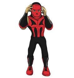 Wrestler Franky vector image