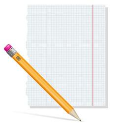 pencil 02 vector image