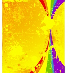 colorful vertical background vector image