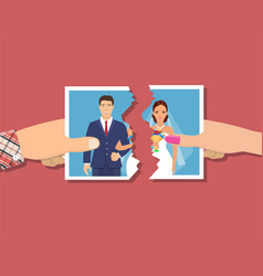 Break up relationship vector