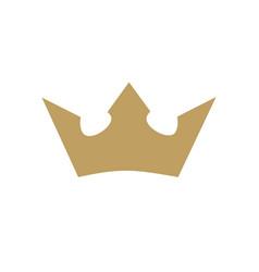 Crown king logo vector