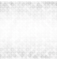 Light background with soft gray circles vector image