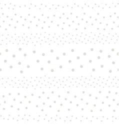 Polka dot seamless pattern with random circles vector