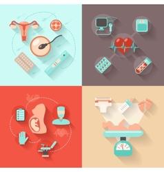 Pregnancy Design Concept vector image