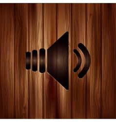 Speaker icon Volume symbol vector image
