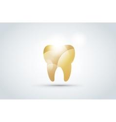 Tooth icon logo template vector