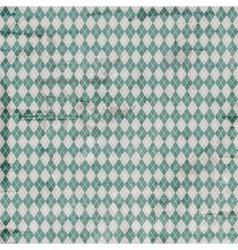Vintage argyle pattern vector