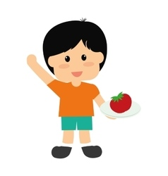 healthy eating icon image vector image vector image