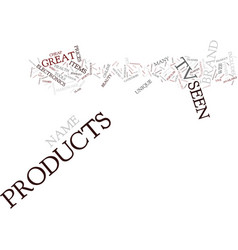 as seen on tv name brand products you can t live vector image