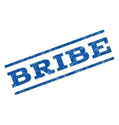 Bribe Watermark Stamp vector image