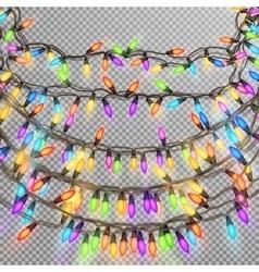 Christmas garland EPS 10 vector image