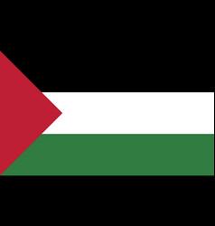 Flag palestine vector
