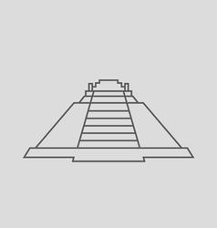 Pyramid of the magician vector