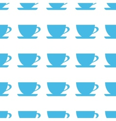 Unique Cup seamless pattern vector image