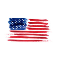 Usa independence day background happy 4th of july vector