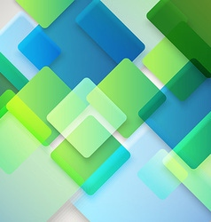 Abstract background of different color squares vector image vector image