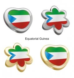 equatorial guinea vector image