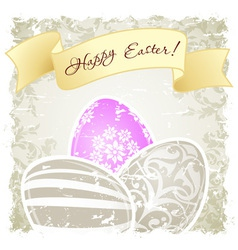 Grungy Easter Background vector