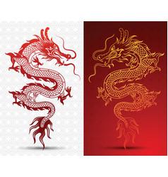 Hinese dragon vector