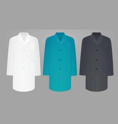 Medical uniforms vector