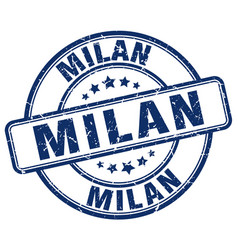 Milan stamp vector