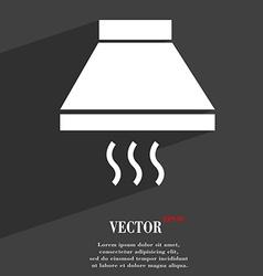 Kitchen hood icon symbol Flat modern web design vector image