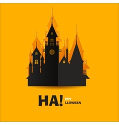 House of Horrors or Horrible Castle vector image