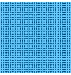 Blue abstract technology background with seamless vector image vector image