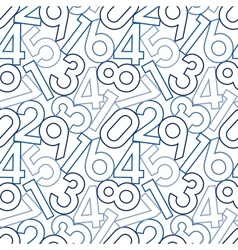 Seamless digital pattern vector image vector image