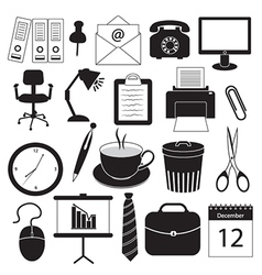 Business and Office Organization Icons vector