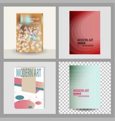 Design cover book brochure layout flyer poster vector