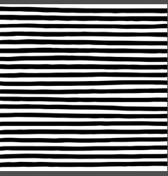 Hand drawn horizontal parallel black thick lines vector