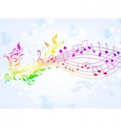 Musical fantasy vector