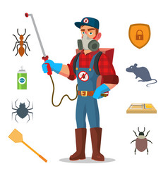 Pest control prevention from infection vector