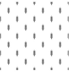 Ripe spike pattern vector