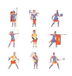 Roman army ancient rome war battle legion vector