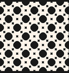 simple geometric monochrome seamless pattern vector image