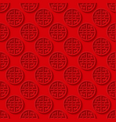 Traditional seamless Chinese background vector