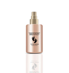foot cream realistic spray cosmetics vector image