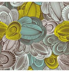 geometric decorative seamless vector image vector image