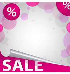 Bright Sale Poster vector image vector image