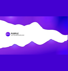 abstract background purple gradient white centre vector image