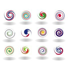 Abstract Circular Set vector