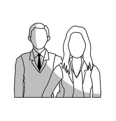 Business people icon vector