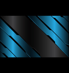 grey banner blue metallic black circuit cyber vector image
