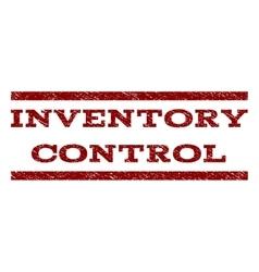 Inventory control watermark stamp vector