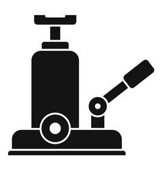 Jack-screw icon simple style vector