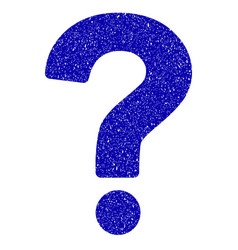 Question icon grunge watermark vector